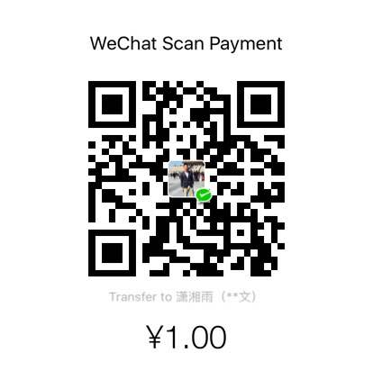 蒋业文 WeChat Pay